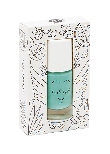 Nailmatic Kids Nail Polish Rio Green | POPS & OZZY