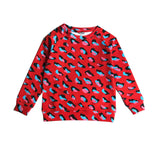 Romey Loves Lulu Animal Print Sweatshirt