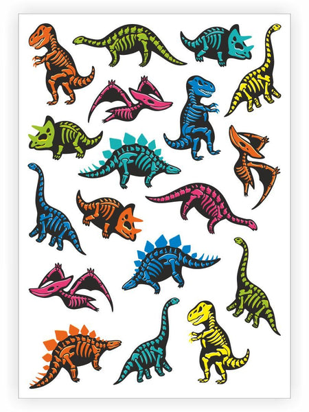 T-Rex 3-pack Temporary Tattoos