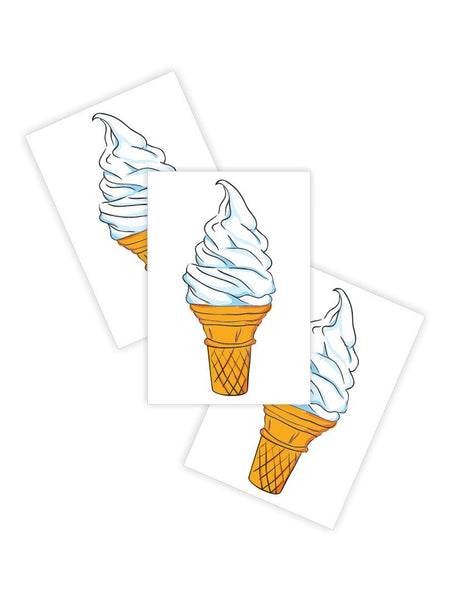 Ducky Street Soft Serve Ice Cream Tattoo