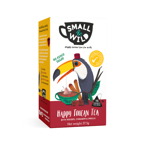 Small & Wild Happy Toucan herbal chair tea for kids