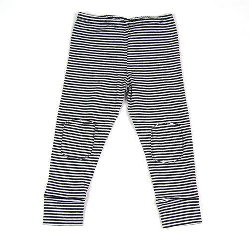 Striped Jersey Leggings by Mingo Kids