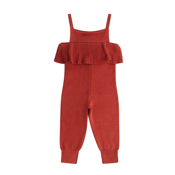Maed For Mini Spicy Parrot Knit Jumpsuit