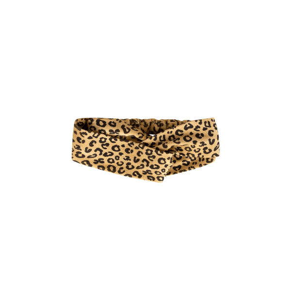 Maed For Mini Yellow Leopard Hairband POPS & OZZY