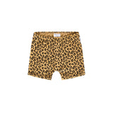 Maed For Mini Yellow Leopard Shorts POPS & OZZY