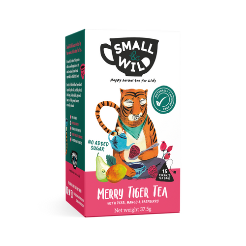 Merry Tiger herbal tea for kids Small & Wild