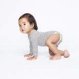 Dots Bodysuit by Mingo Kids - model crawling