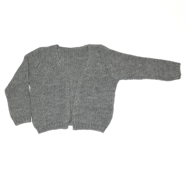 Grey Cardigan by Mingo Kids
