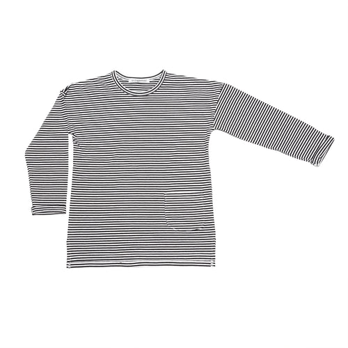 Striped Long Sleeved T Shirt by Mingo Kids