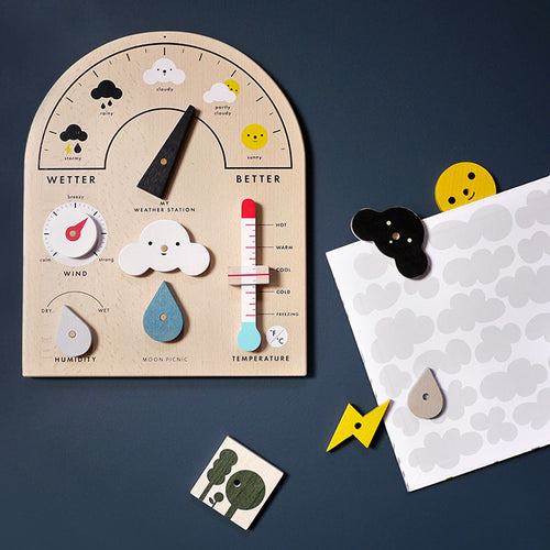 My Weather Station Moon Picnic | POPS & OZZY