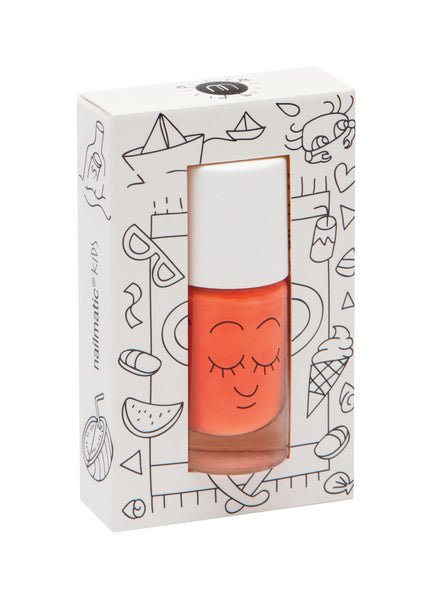 Nailmatic Kids Nail Polish Dori Orange | POPS & OZZY