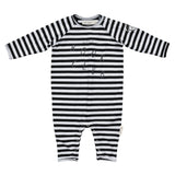 Book Club Striped Playsuit