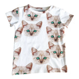 Romey Loves Lulu Kitty UV T Shirt