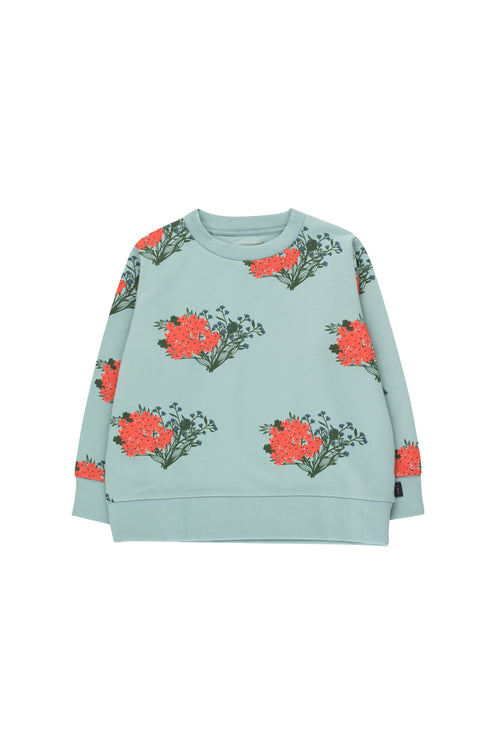 Flowers Sweatshirt by Tinycottons