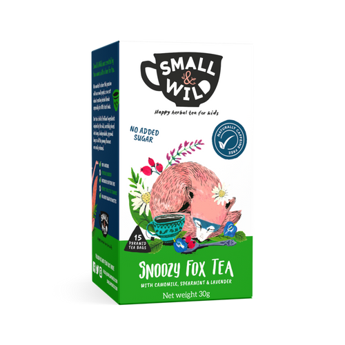 Small & Wild snoozy fox herbal tea for kids