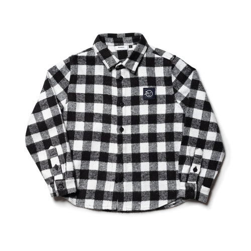 Wynken Apache Shirt black and white check