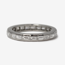 Vintage Baguette Cut Diamond Eternity Ring