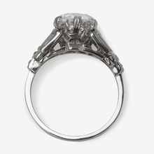 Art Deco 2.80 carat Diamond Solitaire Ring