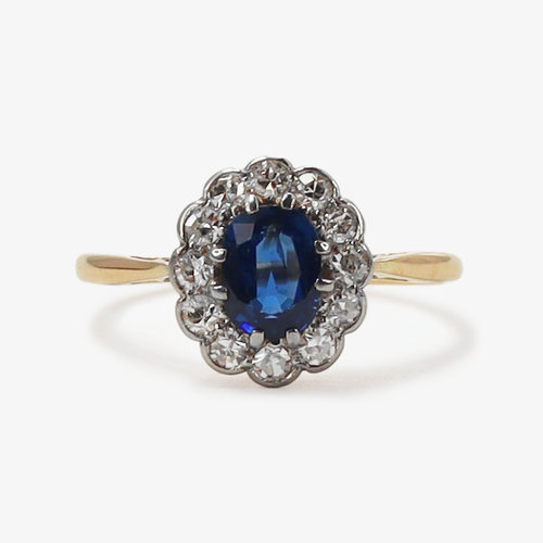 Sapphire and Diamond Cluster