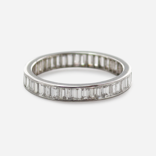 2 carat Baguette Diamond Eternity Ring