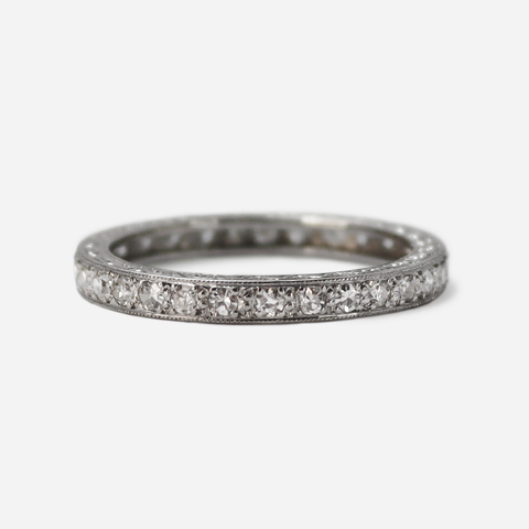 Platinum Set Diamond Eternity Ring
