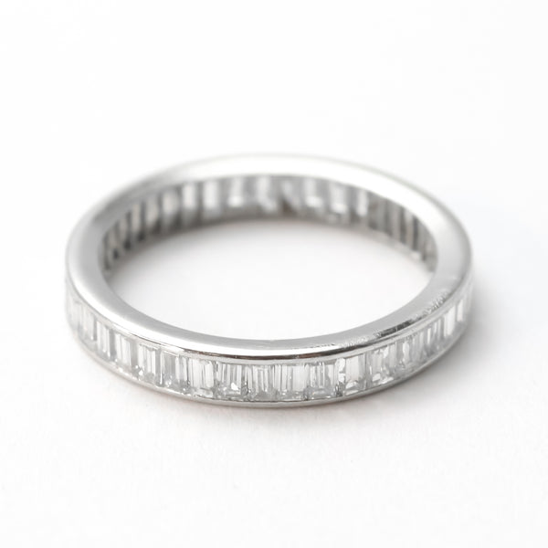Baguette Cut Diamond Eternity Ring