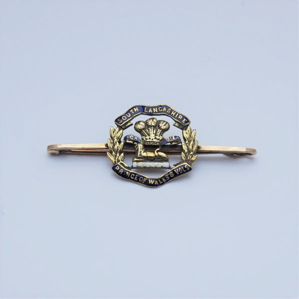 South Lancashire Prince of Wales Volunteers Bar Brooch