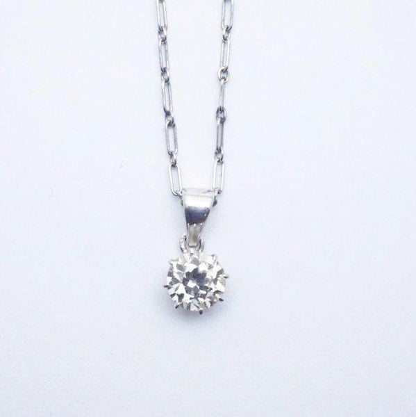 1930's Diamond Pendant