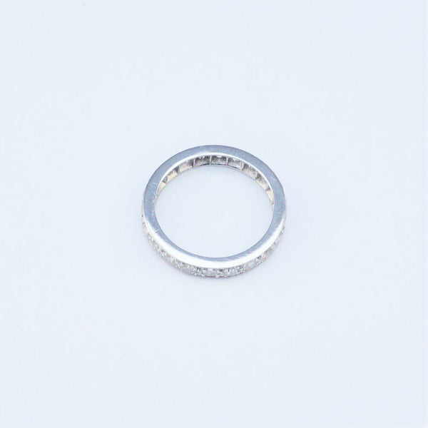 18 Carat White Gold Eternity Ring