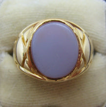 Art Deco Gentlemans Agate Signet Ring