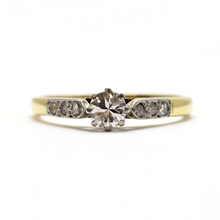 Art Deco Diamond Solitaire Ring