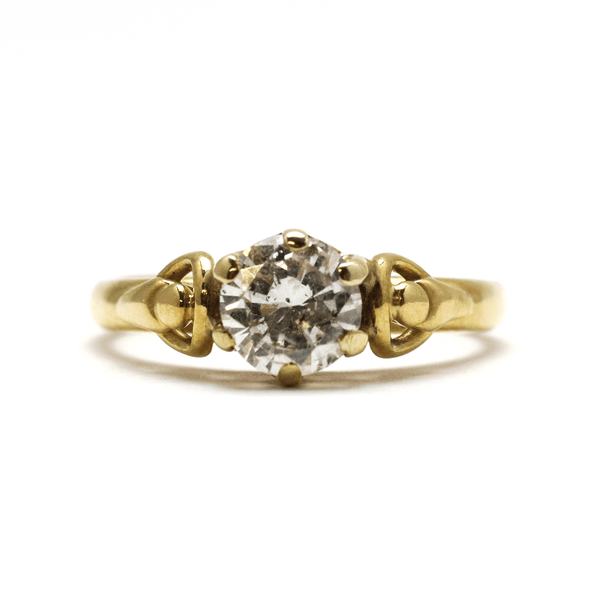 Art Deco Diamond Solitaire Ring - Friar House