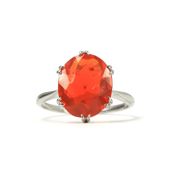Art Deco Fire Opal Ring - Friar House