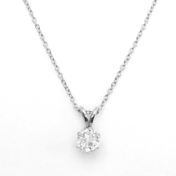 Cushion Cut Diamond Pendant - Friar House