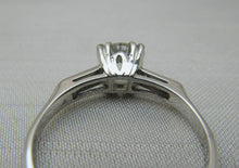 1 Carat Diamond Solitaire Platinum Engagement Ring