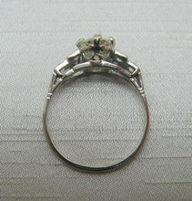 Platinum and Diamond Solitaire Ring 1.30 Carats