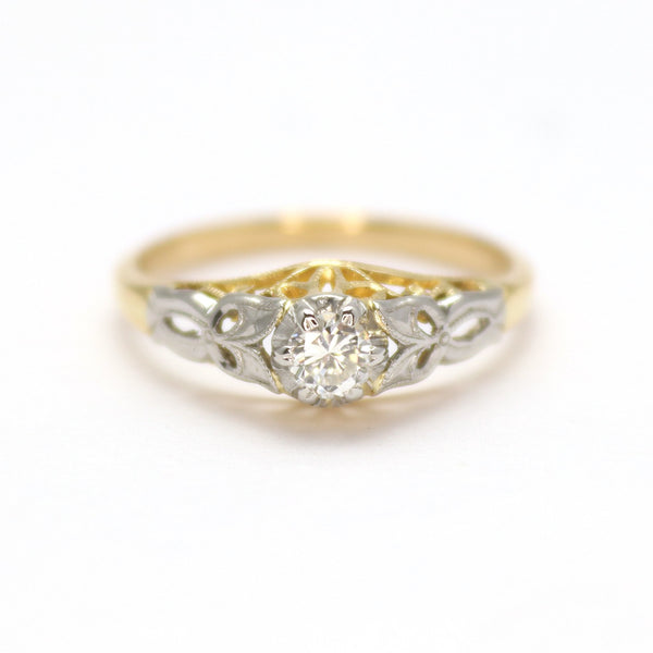 Diamond Solitaire Ring - Friar House