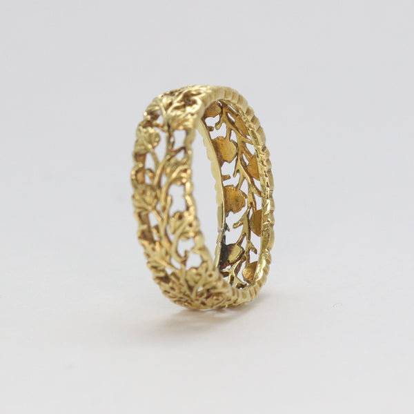 Buccellati Gold Eternity Ring