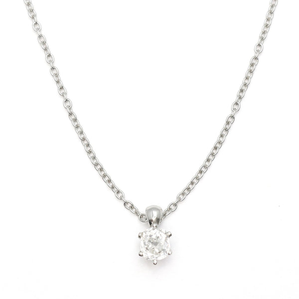 Platinum Diamond Drop Pendant - Friar House