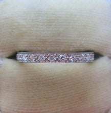 Platinum Full Set Old Cut Diamond Eternity Ring - Friar House
