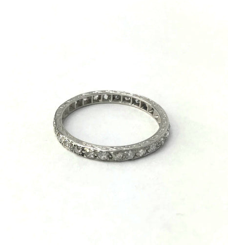 Platinum Diamond Eternity Ring.