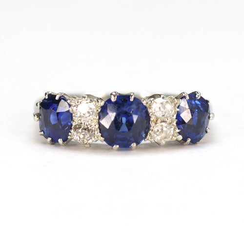 Sapphire and Diamond Ring - Friar House