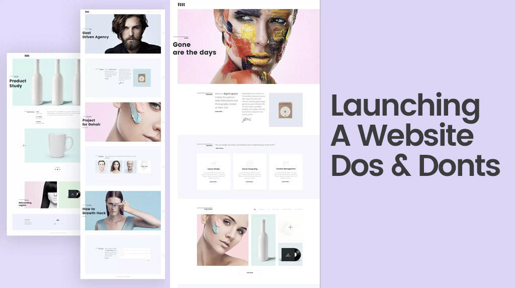 Launching a Website: Do's & Don'ts not to Ignore