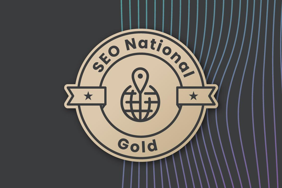 SEO National Gold - SEO - Wegacha - Creative & Digital Marketing Agency