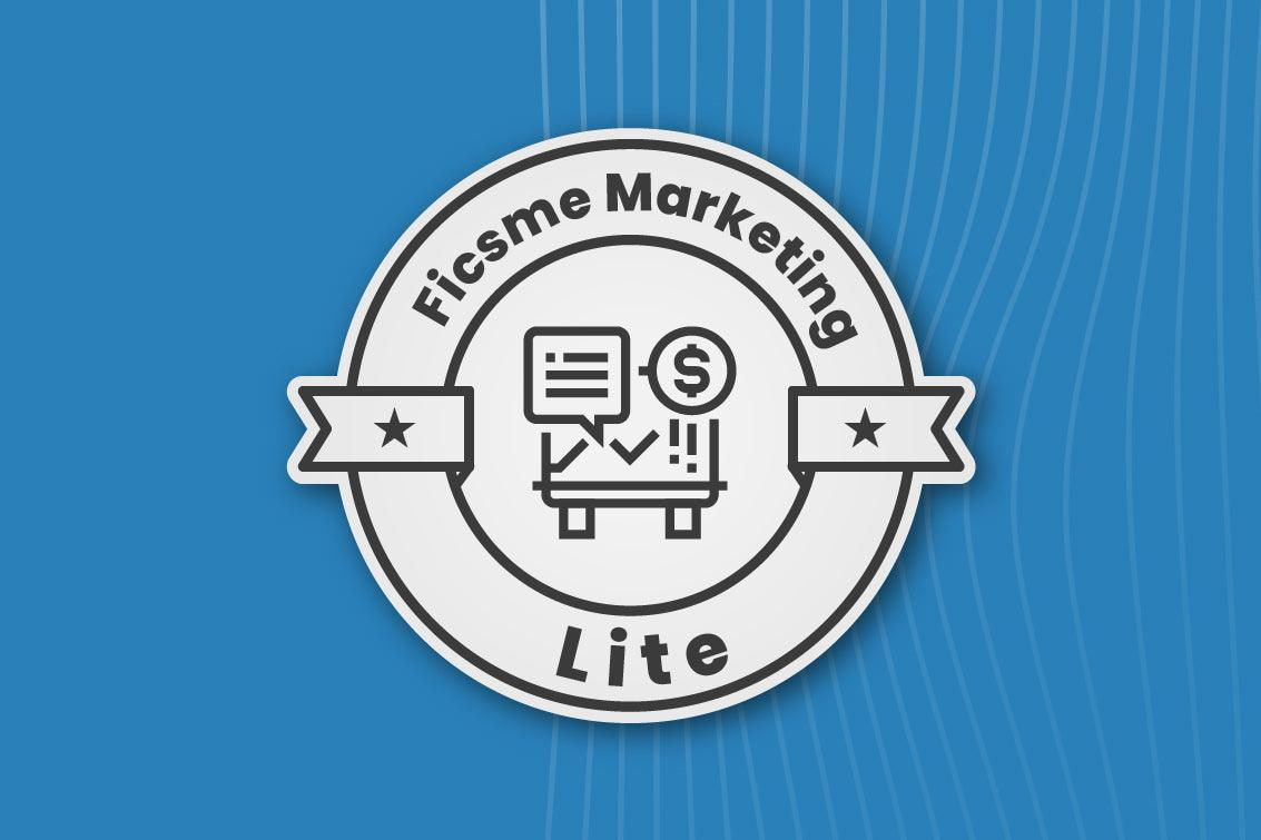 Ficsme Marketing Lite - Marketing Automation Tool - Wegacha - Creative & Digital Marketing Agency