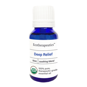 Organic Deep Relief Essential Oil Blend