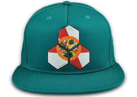 Florida Hex Snap Back Hat