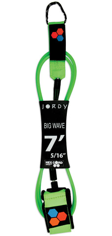 Jordy Smith Hex Cord 7' Big WaveLeash