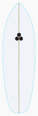 "Custom MINI 5' 9"" for rory steel"