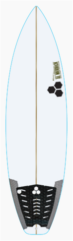 "Custom Black and White 5' 10"" for koanga stewart"